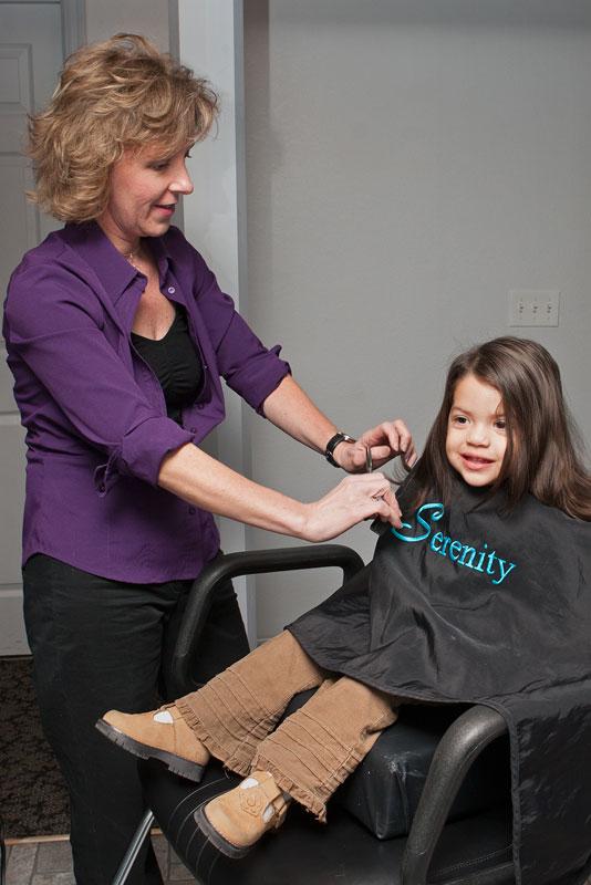 Salon Hair Cut